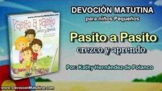 Sábado 4 de junio 2016   Devoción Matutina para niños Pequeños 2016   Jesús cuida de mí