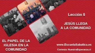 Lección 5 | Domingo 24 de julio 2016 | La declaración de misión de Jesús | Escuela Sabática