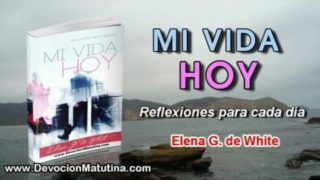 22 de octubre   Mi vida Hoy   Elena G. de White   Cristo fue obediente