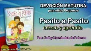 Lunes 7 de noviembre 2016 | Devoción Matutina para niños Pequeños 2016 | Jesús viste a las flores