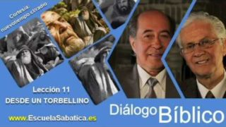 Resumen   Diálogo Bíblico   Lección 11   Desde un torbellino   Escuela Sabática