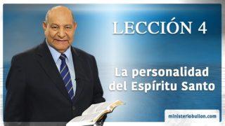 Comentario | Lección 4 | La personalidad del Espíritu Santo | Escuela Sabática | Pr. Alejandro Bullón