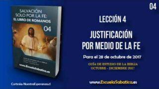 Lección 4 | Lunes 23 de octubre 2017 | La Justicia de Dios | Escuela Sabática