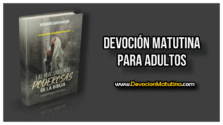 Domingo 29 de abril 2018 | Devoción Matutina Adultos | Oración al borde del abismo