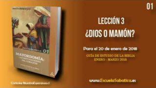 Lección 3 | Lunes 15 de enero 2018 | Hijo de Dios / Hijo de hombre | Escuela Sabática