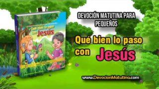 Lunes 4 de junio 2018 | Devoción Matutina para Niños Pequeños | Da gracias a Jesús