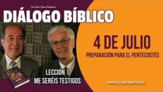 Diálogo Bíblico   Miércoles 4 de julio 2018   Preparación para el pentecostés   Escuela Sabática