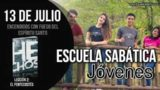 Escuela Sabática Jóvenes | Viernes 13 de julio del 2018 | Encendidos con fuego del Espíritu Santo