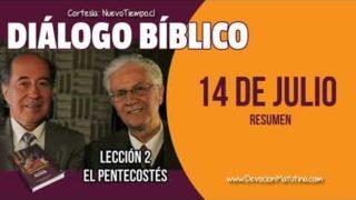 Resumen | Diálogo Bíblico | Viernes 13 de julio del 2018 | Para estudiar y meditar | Escuela Sabática