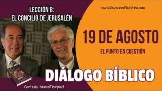 Diálogo Bíblico | 19 de agosto del 2018 | El punto en cuestión | Escuela Sabática