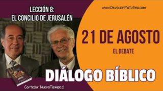 Diálogo Bíblico | 21 de agosto del 2018 | El debate | Escuela Sabática