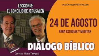 Diálogo Bíblico | 24 de agosto del 2018 | Para estudiar y meditar | Escuela Sabática