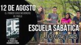 Escuela Sabática Jóvenes | Domingo 12 de agosto del 2018 | El primer viaje misionero de Pablo