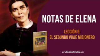 Notas de Elena – Lección 9 – El segundo viaje misionero – Escuela Sabática Semanal