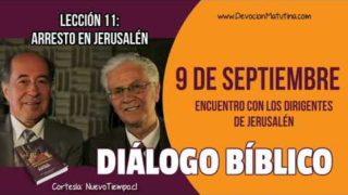 Diálogo Bíblico | Domingo 9 de septiembre 2018 | Encuentro con los dirigentes | Escuela Sabática