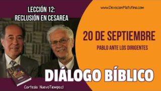 Diálogo Bíblico | Jueves 20 de septiembre 2018 | Pablo ante los dirigentes | Escuela Sabática