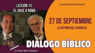 Diálogo Bíblico | Jueves 27 de septiembre 2018 | La victoria del evangelio | Escuela Sabática