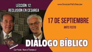 Diálogo Bíblico | Lunes 17 de septiembre 2018 | Ante Festo | Escuela Sabática