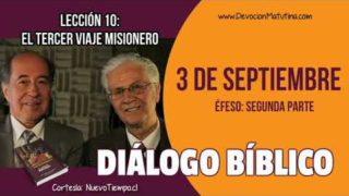 Diálogo Bíblico | Lunes 3 de septiembre 2018 | Éfeso: Segunda parte | Escuela Sabática