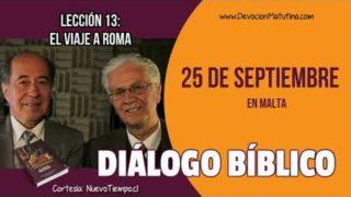 Diálogo Bíblico | Martes 25 de septiembre 2018 | En Malta | Escuela Sabática