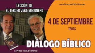 Diálogo Bíblico | Martes 4 de septiembre 2018 | Troas | Escuela Sabática