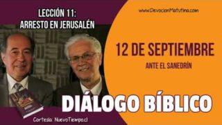 Diálogo Bíblico | Miércoles 12 de septiembre 2018 | Ante el Sanedrín | Escuela Sabática