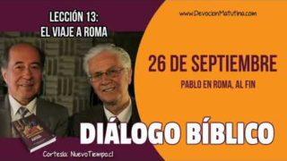 Diálogo Bíblico | Miércoles 26 de septiembre 2018 | Pablo en Roma, al fin | Escuela Sabática