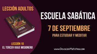 Escuela Sabática | Viernes 7 de septiembre 2018 | Para estudiar y meditar | Lección Adultos