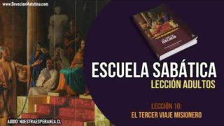 Lección 10 | El tercer viaje misionero | Escuela Sabática Lección semanal