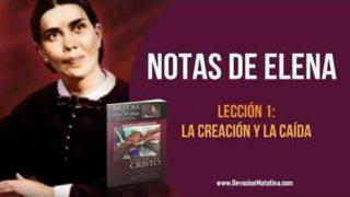 Notas de Elena – Lección 1 – La Creación y la Caída – Escuela Sabática Semanal