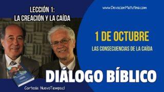 Diálogo Bíblico | Lunes 1 de octubre 2018 | Las consecuencias de la caída | Escuela Sabática