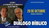 Diálogo Bíblico | Lunes 29 de octubre 2018 | De Babel al Pentecostés | Escuela Sabática