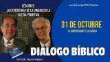 Diálogo Bíblico | Miércoles 31 de octubre 2018 | La generosidad y la codicia | Escuela Sabática