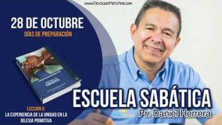 Escuela Sabática | 28 de octubre 2018 | Días de preparación | Pr. Daniel Herrera