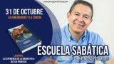 Escuela Sabática   31 de octubre 2018   La generosidad y la codicia   Pr. Daniel Herrera