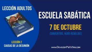 Escuela Sabática | Domingo 7 de octubre 2018 | Convertíos, hijos rebeldes | Lección adultos