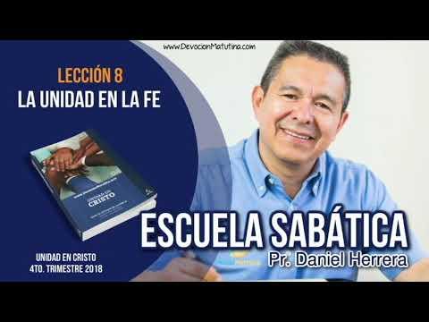 Escuela Sabática | 21 de noviembre 2018 | El Sábado | Pr. Daniel Herrera