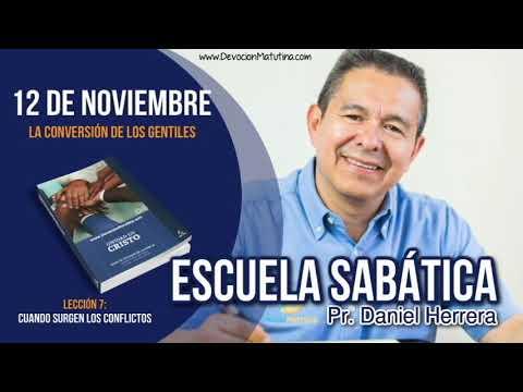 Escuela Sabática | Lunes 12 de noviembre 2018 | La conversión de los gentiles | Pr. Daniel Herrera