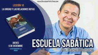 Escuela Sabática | 6 de diciembre 2018 | La restauración y la unidad | Pr. Daniel Herrera