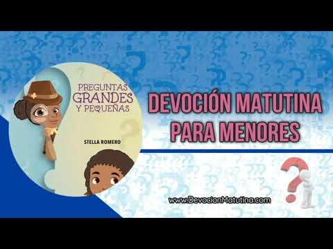 1 de enero 2019 | Devoción Matutina para Menores | ¿Se puede «marear» uno de tanto pensar?
