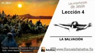 Lección 4 | Domingo 20 de julio 2014 | La Salvación es un don de Dios