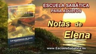 Notas de Elena | Sábado 5 de julio 2014 | El Hijo | Escuela Sabática