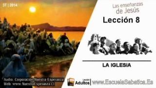 Lección 8 | Sábado 16 de agosto 2014 | Para memorizar | Escuela Sabática