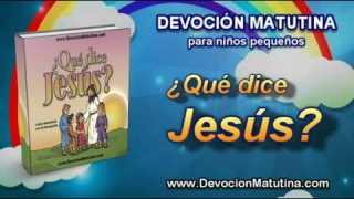 Video | Miércoles 29 de octubre | Devoción Matutina para niños Pequeños 2014 | Jesús quiere estar contigo
