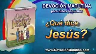 Video | Viernes 3 de octubre | Devoción Matutina para niños Pequeños 2014 | Jesús aprende del plan de Dios