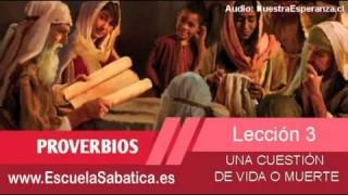 Lección 3 | Lunes 12 de enero 2015 | Luz y vida | Escuela Sabática 2015