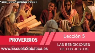 Lección 5 | Viernes 30 de enero 2015 | Para estudiar y meditar | Escuela Sabática