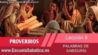 Lección 8 | Jueves 19 de febrero 2015 | Educación | Escuela Sabática