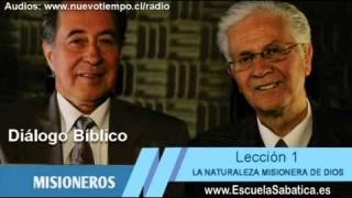 Resumen | Diálogo Bíblico | Lección 1 | La naturaleza misionera de Dios | Escuela Sabática