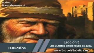 Lección 3   Martes 13 de octubre 2015   El breve reinado del rey Joaquín de Judá   Escuela Sabática